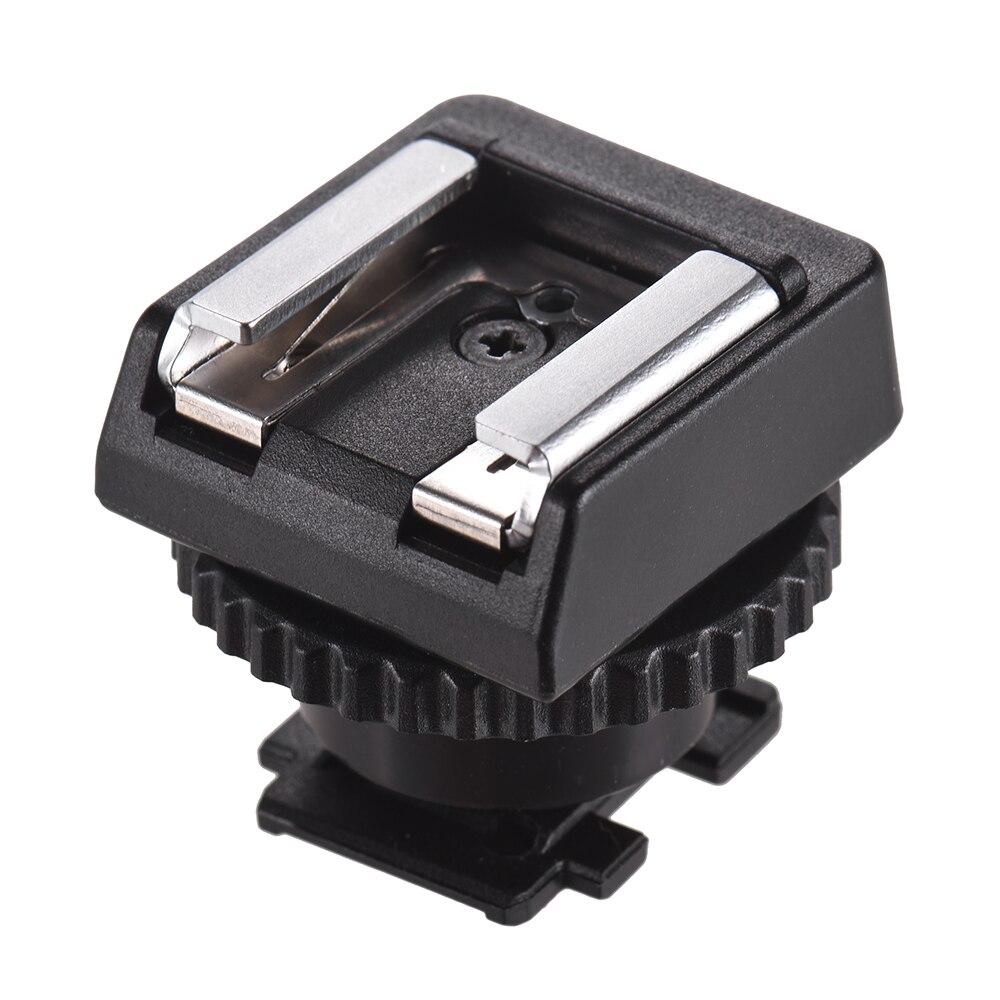 Адаптер типа «Горячий башмак», компактный и легкий адаптер для крепления вспышки типа «Горячий башмак» для видеокамеры Sony, аксессуары для ф...