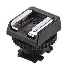 Adapter gorącej stopki kompaktowy i lekki Flash uchwyt gorącej stopki adapter do sony kamery akcesoria fotograficzne