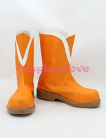 Newest Custom Made Japanese Anime Lovelive Sega SUNNY DAY SONG Nishikino Maki Cosplay Shoes Boots For