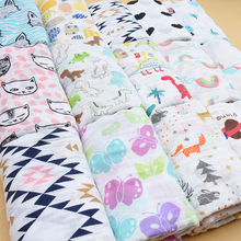 Baby's Printed Cotton Swaddle Blanket