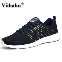 Viihahn Men's Running Shoes Summer 2017 Outdoor Breathable Women Sneakers Walking Sport Textile Shoes