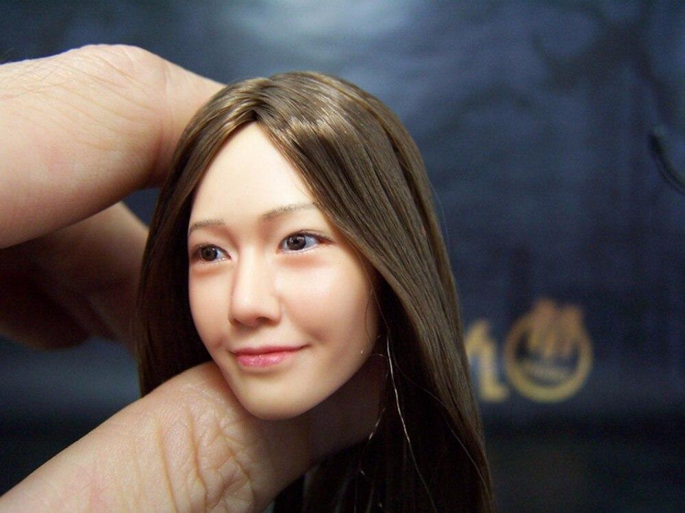 New KUMIK Oriental Beauty Female HEADPLAY 005NP Hair Implants