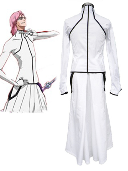 Free Shipping Bleach The Octava Espada No.8 Szayelaporro Grantz Kimono Uniform Anime Cosplay Costumes