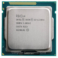 Intel Xeon Quad Core Processor E3 1230 v2 E3 1230 V2 3.3GHz LGA 1155 CPU LGA