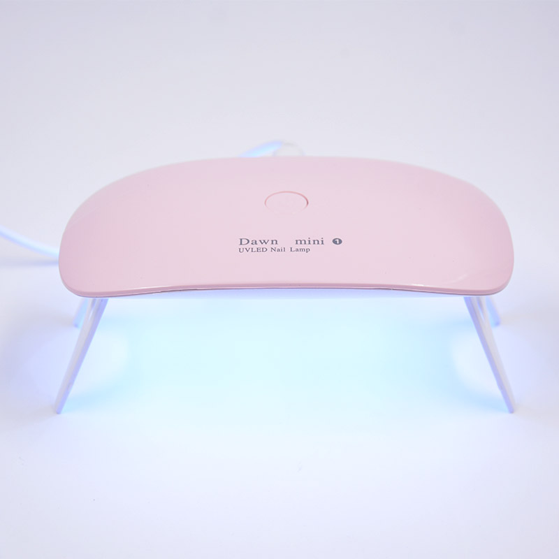UV curing lamp Manicure lamp Manual instrument Ultraviolet irradiation No black hand mini 5W Six lights tools Dryer UV Curing in Pottery Ceramics Tools from Home Garden