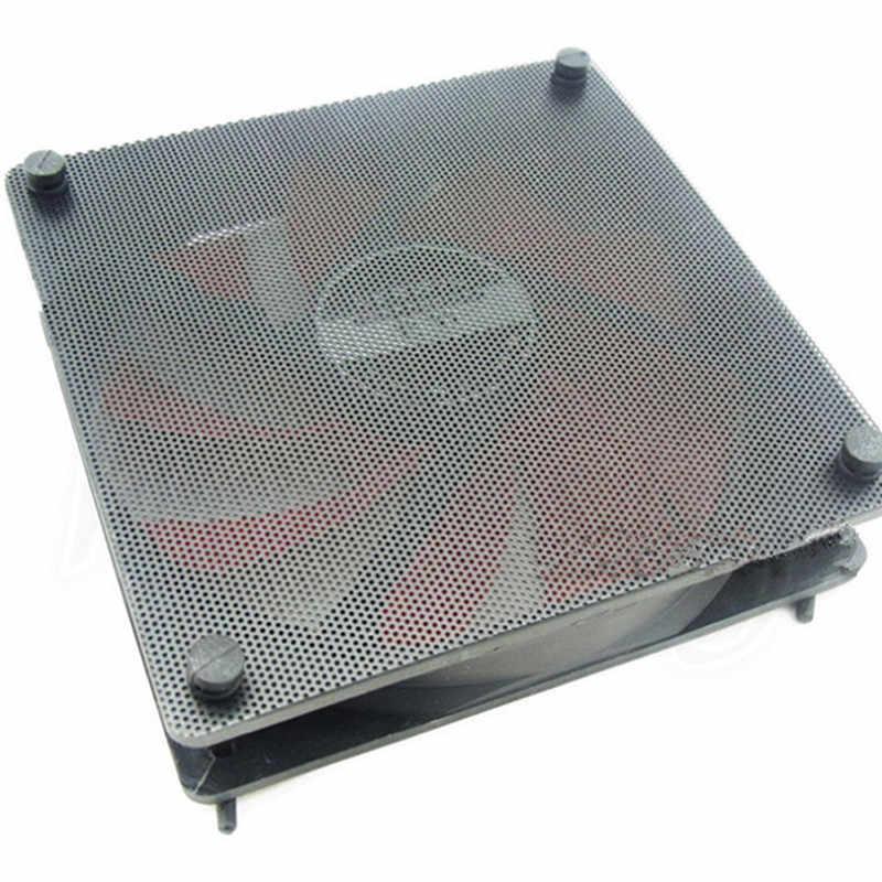 5 قطعة/الوحدة 120mm كوتابل الأسود PVC PC مروحة الغبار تصفية الغبار حالة الكمبيوتر شبكة
