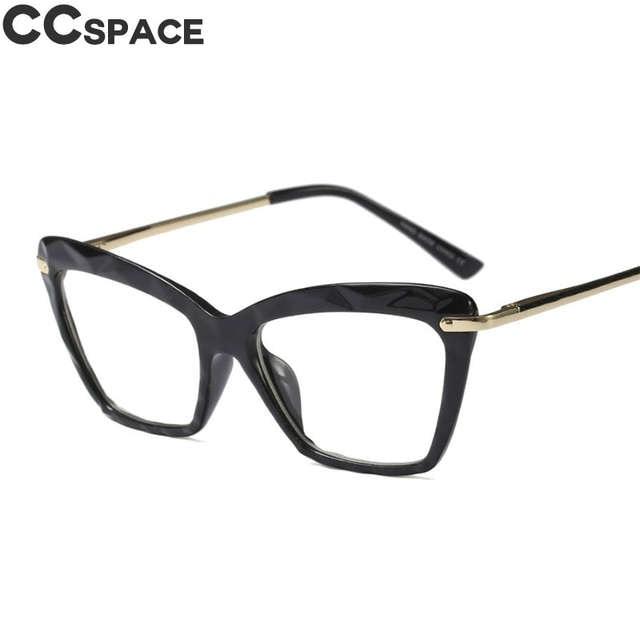299c67465 45591 marcos De gafas cuadradas De moda para mujeres estilos De tendencias  De marca gafas De ordenador ópticas Oculos De Grau Feminino Armacao en Las  ...