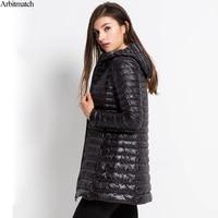 Arbitmatch New 2017 Women Down Coat Plus Size 6XL Winter Warm Jacket Ultra Light 90 Duck