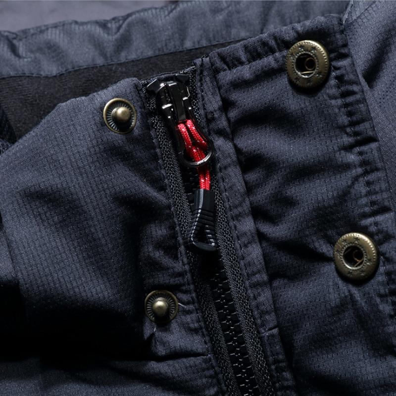 Image 3 - Men down jacket 80% white duck down chaqueta plumas hombre invierno doudoune homme duvet chaquetas hombre plumas M 4XL 18497 5-in Down Jackets from Men's Clothing