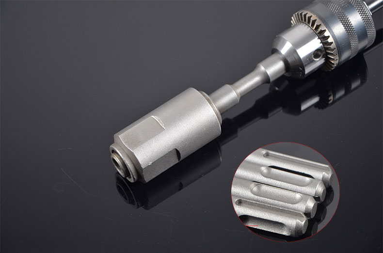 SDS Plus Drill Bit Adapter For Electric Impact Drill. SDS Electric Hammer Adapter For Drill Bit Extension Rod, Connecting Rod.