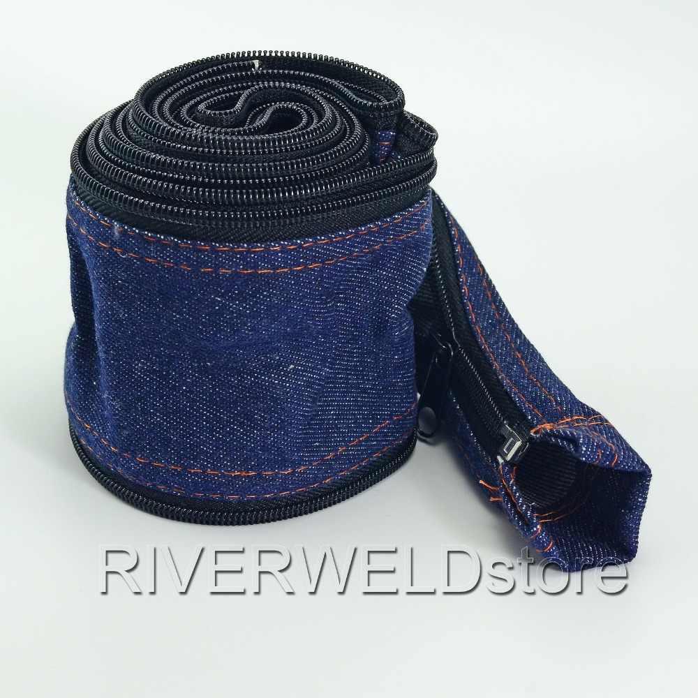 7.5M TIG Torch Cable Cover Cowboy Zipper Jacket 25 Foot Length