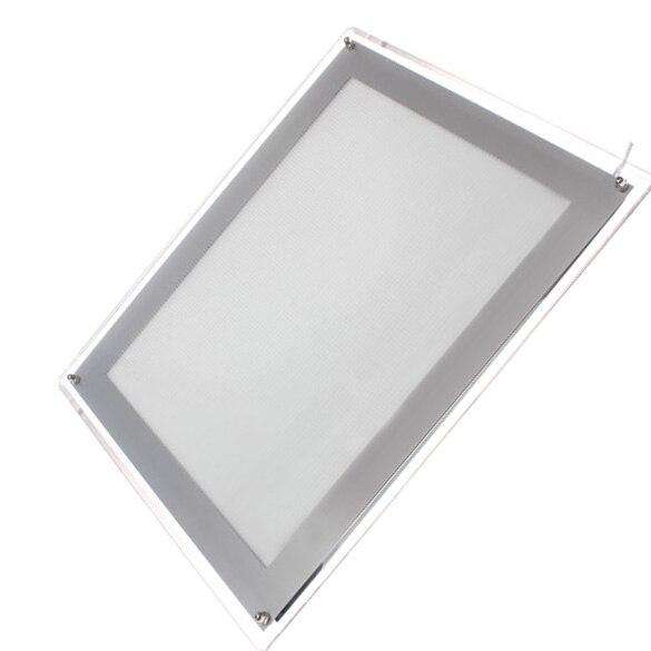 ФОТО New Professional Tattoo Supply Ultra Thin Tracing Table Pad A4 LED Stencil Board Box Tool