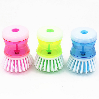 1Pc Kitchen Wash Tool Pot Pan Dish Bowl Palm Brush Scrubber Cleaning Cleaner Hot Household Cleaning Brush