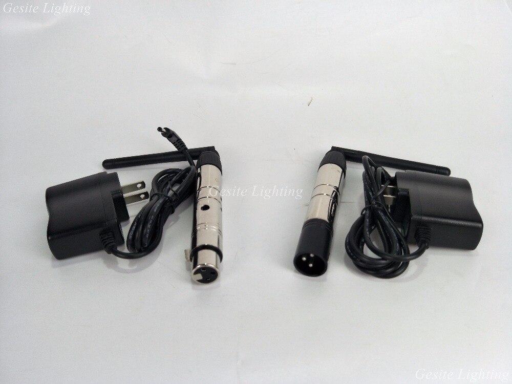 4 шт./лот XLR Беспроводной DMX приемника и передатчика