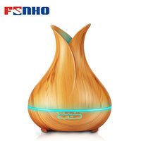 FUNHO 400ml Air Aroma Humidifier Diffuseur Huile Essential Oil Ultrasonic Mist Maker USB Night Light Aromatherapy
