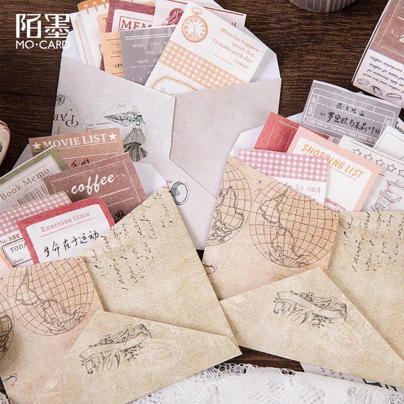 Vintage escritura cinta de Washi, planificador de viaje Memo cintas lista fecha cinta adhesiva bricolaje diario etiqueta diario de bala