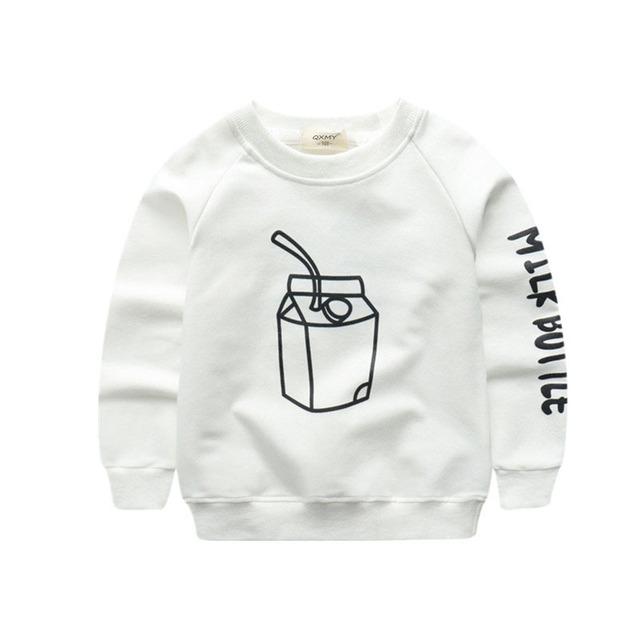 Boy's Printed Cotton Sweatshirts