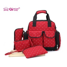 designer backpack diaper bag q5o0  5PCS/SET Designer Nappy Bag Diaper Backpack Maternity Bags Baby Mummy  Handbag Nappy Backpack Fashion Baby Bag Organizer Diapers