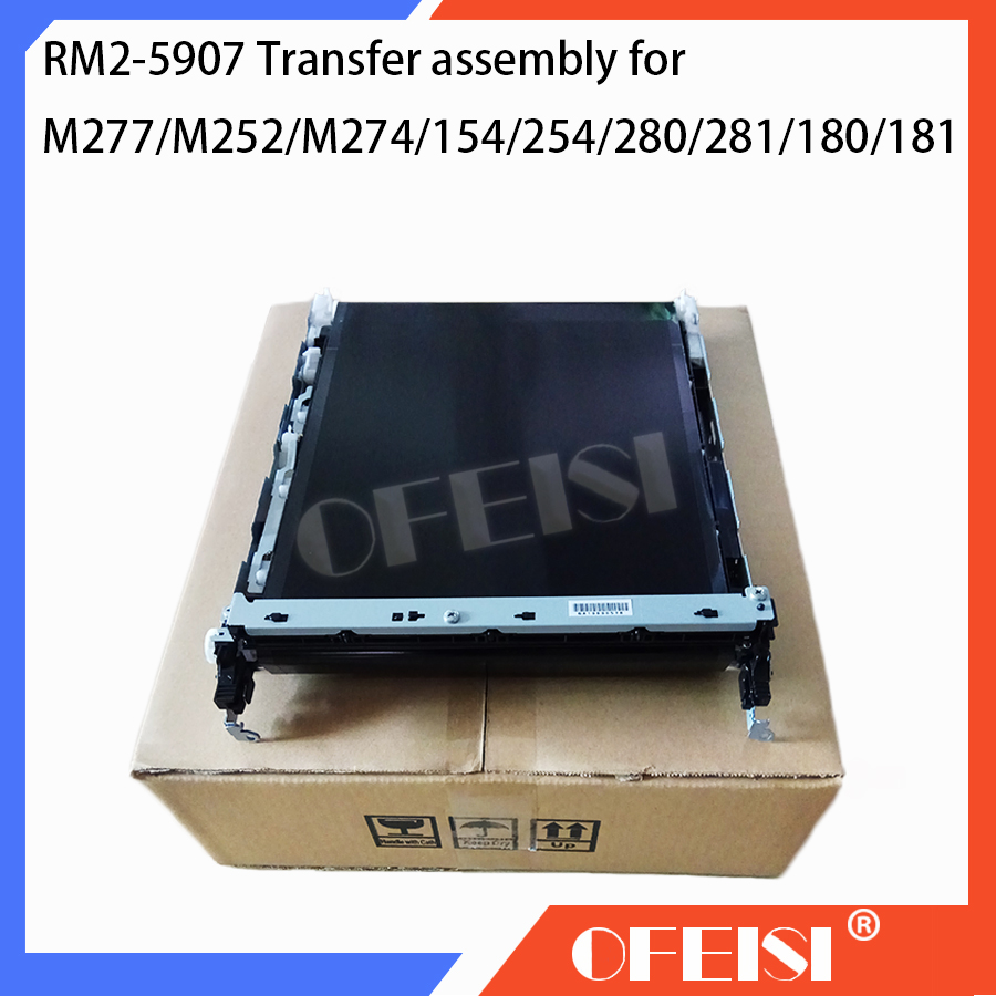 Original RM2-5907 Transfer assembly for HP M277nw/M277n/M252n/M252dw/M274/154/254/280/281/180/181 Transfer kit Printer parts original 95%new rm2 5583 rm2 5584 fuser assembly for hp clj pro m252dw m252n m274 m277dw m277n fuser kit printer parts on sale