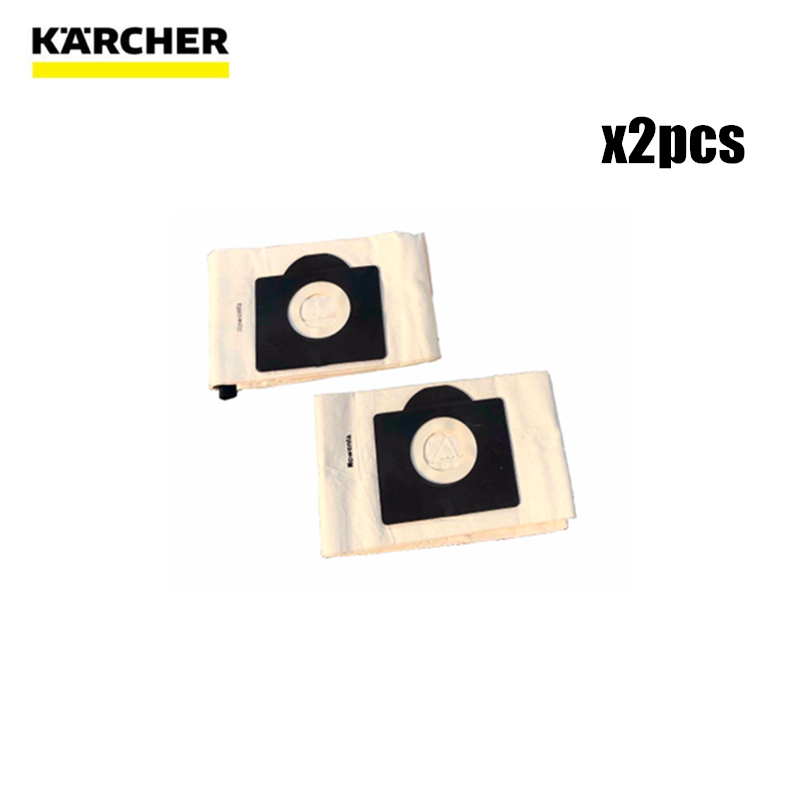 Washable Cloth Dust Bags For Karcher WD3 MV3 SE4001 A2299 K2201 F K2150 Vacuum Cleaner Spare Parts Replacement Dust Bag