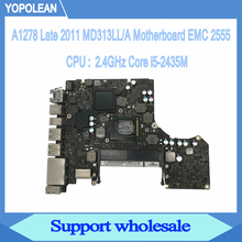 2 4GHz Core i5 2435M Logic Board For Macbook Pro 13 A1278 Motherboard MD313LL A Late