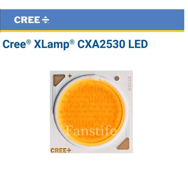 2pcs Cree CXA2530 CXA 2530 65W Ceramic COB LED Array Light EasyWhite 4000K -5000K Warm White 2700K - 3000K With / Without Holder