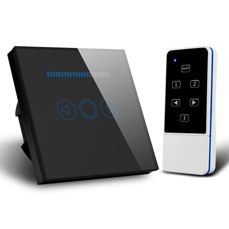 Smart Home EU gradateur 220 V, panneau tactile sans fil à distance mur lumière gradateur interrupteur Wifi contrôle Via Broadlink Rm Pro/Geeklink - 3