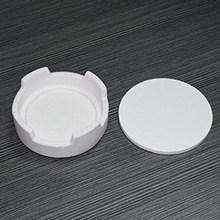 Dental Labor Zirkonia Crown Sintern Tiegel für Ofen Runde Form Aus Größe: 100*35mm