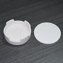 Laboratorio dentale Zirconia Crown Sinterizzazione Crogiolo per Forno di Figura Rotonda Fuori Formato: 100*35mm