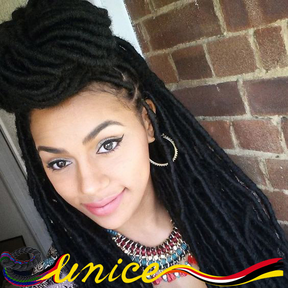 Senegalese Twist Hair Braids Dreadlock Hair Crochet Locs Extensions