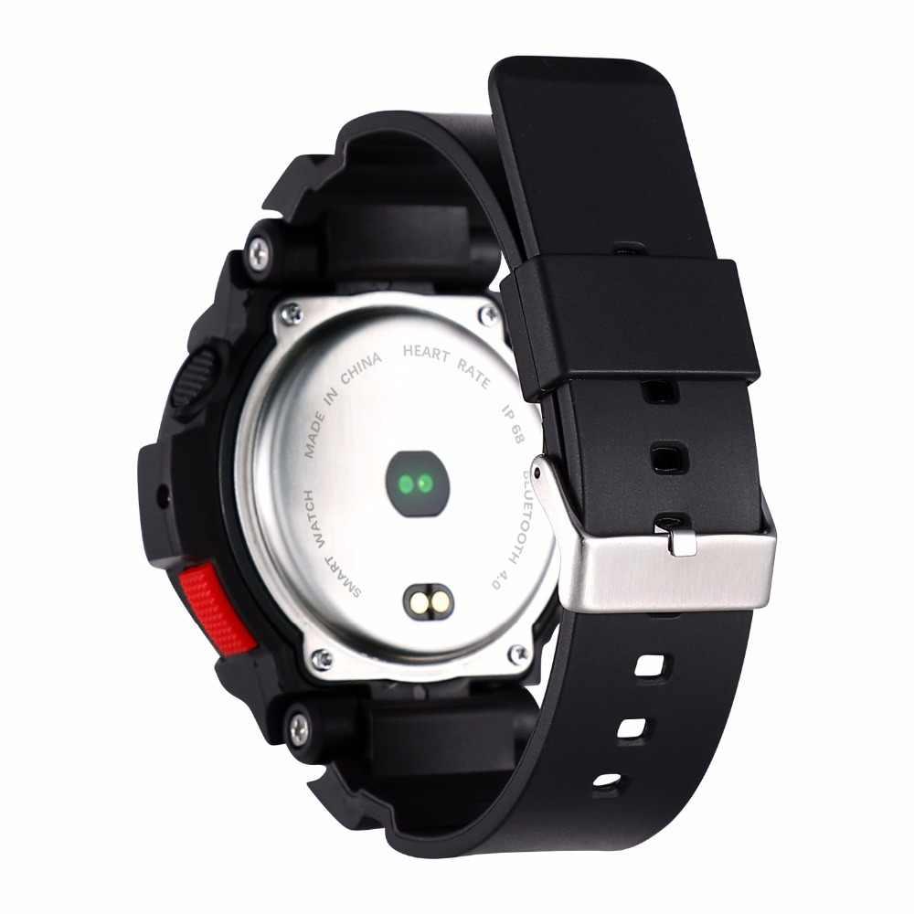 OGEDA גברים שעון Bluetooth F6 Smartwatch IP68 Waterproof קצב לב צג כושר גשש חכם שעון עם רב ספורט מצב חדש
