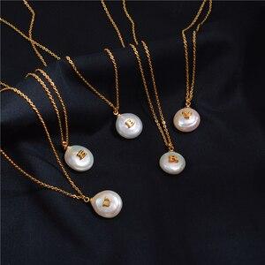Image 1 - Barocke Perle Brief Halskette Weibliche Flut Tropfen Europäischen und Amerikanischen Erweiterte Sinn Französisch Revolutionäre Schlüsselbein