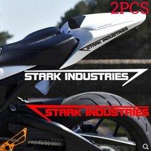 2 pçs que compete a etiqueta reflexiva da motocicleta impermeável decoração adesivos