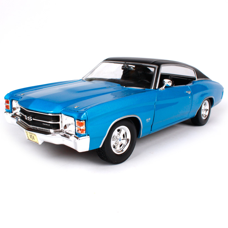 Фотография Maisto 1:18 1971 Chevelle SS 454 Muscle Old Car model Diecast Model Car Toy New In Box Free Shipping 31890