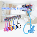 2016 Universal Long Arm Lazy Mobile Phone Gooseneck Stand Holder Stents Flexible Car Bed Desk Table Clip Bracket with New Use