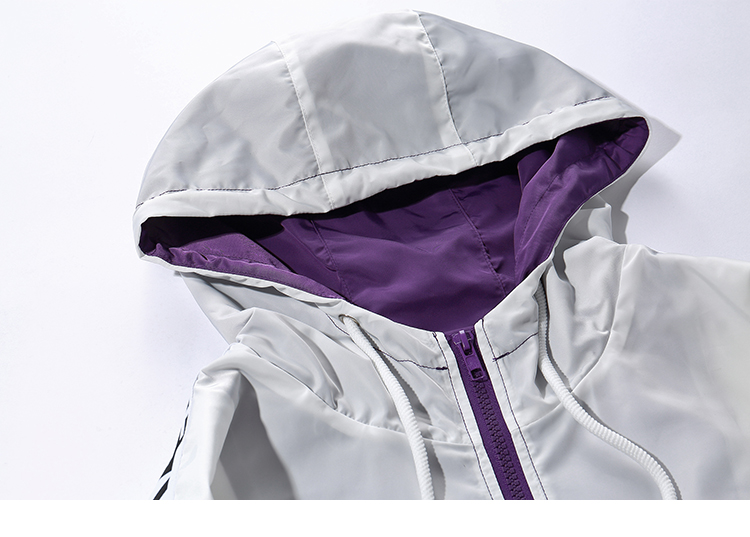Topdudes.com - KEEP YOUR POWER Hooded Windbreaker