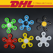 Wholesale 500 PCS DHL Hand spinner Molded Stainless Steel Ball Fidget spinner EDC Toys Autism and ADHD Toys Funny Gifts