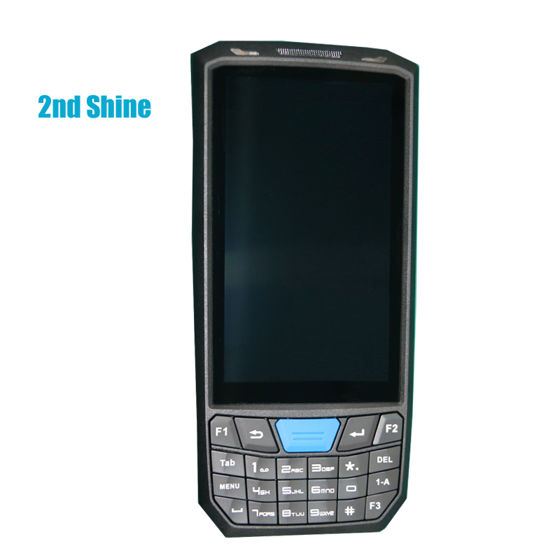 2ndshine Android 7.0 Tablet with Barcode Scanner 4G Wifi GPS Bluetooth NFC Reader Wireless Mobile Data Terminal
