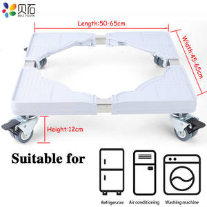 Fridge-Stand Washing-Machine-Holder Movable-Refrigerator Floor-Trolley 4-Strong-Feet