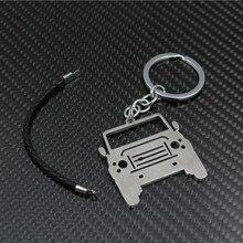 Брелок из нержавеющей стали подходит для Land Rover Defender Cool брелок сумка Подвеска