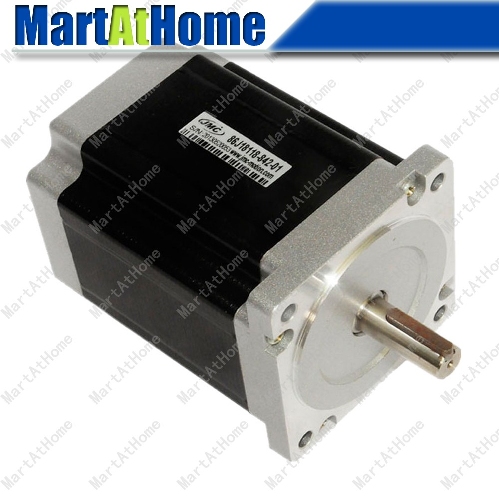 8.5Nm ARGEDO-Fase del Motore Passo-passo NEMA34 Hybrid CNC 4.2A 8-Leads Sarai Dia. 12.7mm per il Router di CNC, Stampante 3D, Laser Router SM8338.5Nm ARGEDO-Fase del Motore Passo-passo NEMA34 Hybrid CNC 4.2A 8-Leads Sarai Dia. 12.7mm per il Router di CNC, Stampante 3D, Laser Router SM833