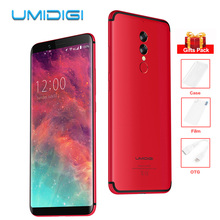 UMIDIGI S2 5100mAh 6.0″ 18:9 Full Screen Helio P20 Octa Core 4G Android Mobile Phone Dual Rear Cams 4GB+64GB 13MP+5MP Smartphone