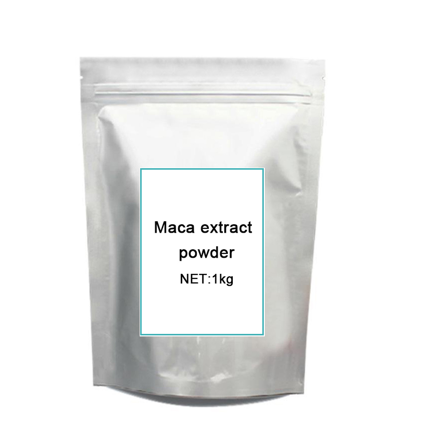 1kg organic Maca extract Free shipping 1kg high quality peru black maca extract powder 10 1 peru maca lepidium meyenii free shipping