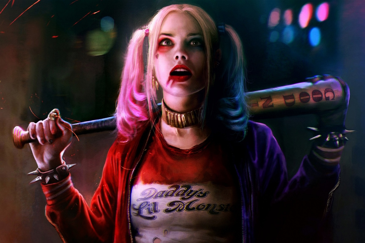 harley quinn suicide squad - 1200×750
