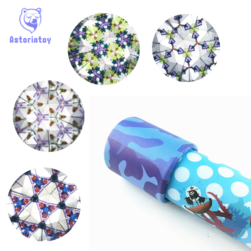20cm Rotating Kaleidoscopes Imaginative Extended Rotation Adjustable Fancy Colored World Baby Toy Children Autism Kid ...