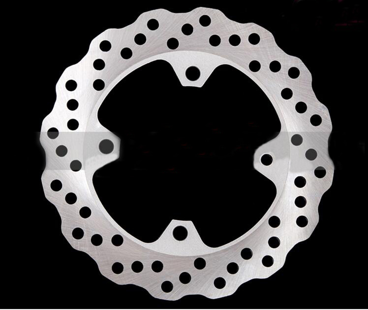 1X Motorcycle Rear Brake Disc Brake Disc Suitable for Kawasaki ZX-6R 636 ZX-9R ZX-10R keoghs real adelin 260mm floating brake disc high quality for yamaha scooter cygnus modify