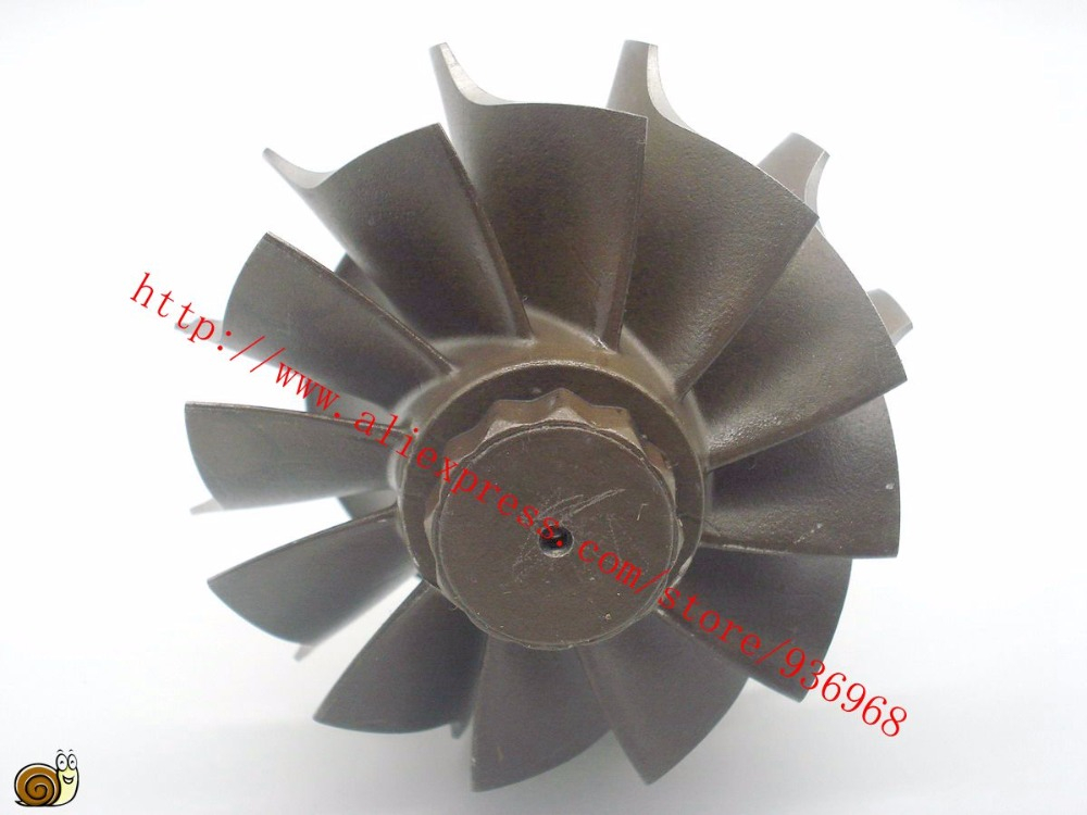 HX55 Turbocharger Turbine wheel 76 3x86mm 12blades Turbo parts supplier by AAA Turbocharger Parts