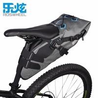 ROSWHEEL 7L 100% Waterproof Bicycle Bag Great Capacity Saddle Rear Seat Bike Bag Rainproof MTB Mountain Road Bicycle Bag Pannier