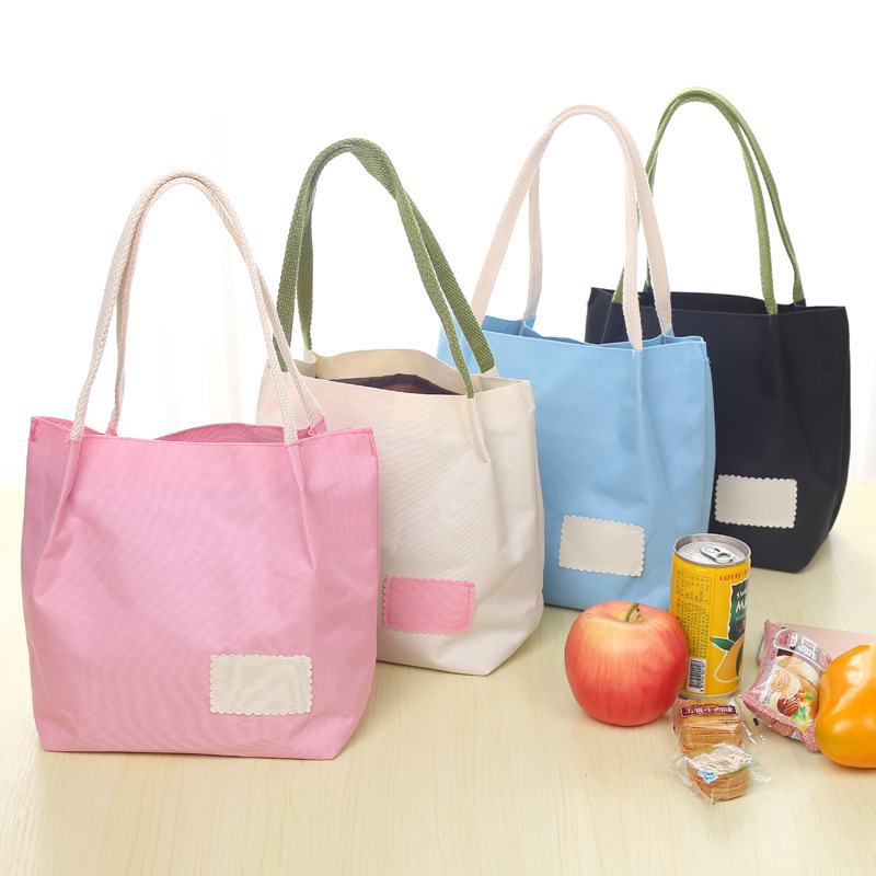 2017 Women Lunch Bag Cooler Waterproof Collapsible Insulated Portable Tote Picnic basket Lunch bag Tote Ice Pack