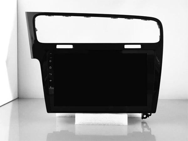 64 GB rom 8 core Android 8.1.2 de voiture GPS pour VW Golf 7 2013-2015 noir écran tactile radio DSP stéréo navigation carplay multimédia